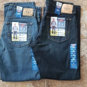 Denizen Levi Mens 285 Relaxed Fit Jeans 36/32